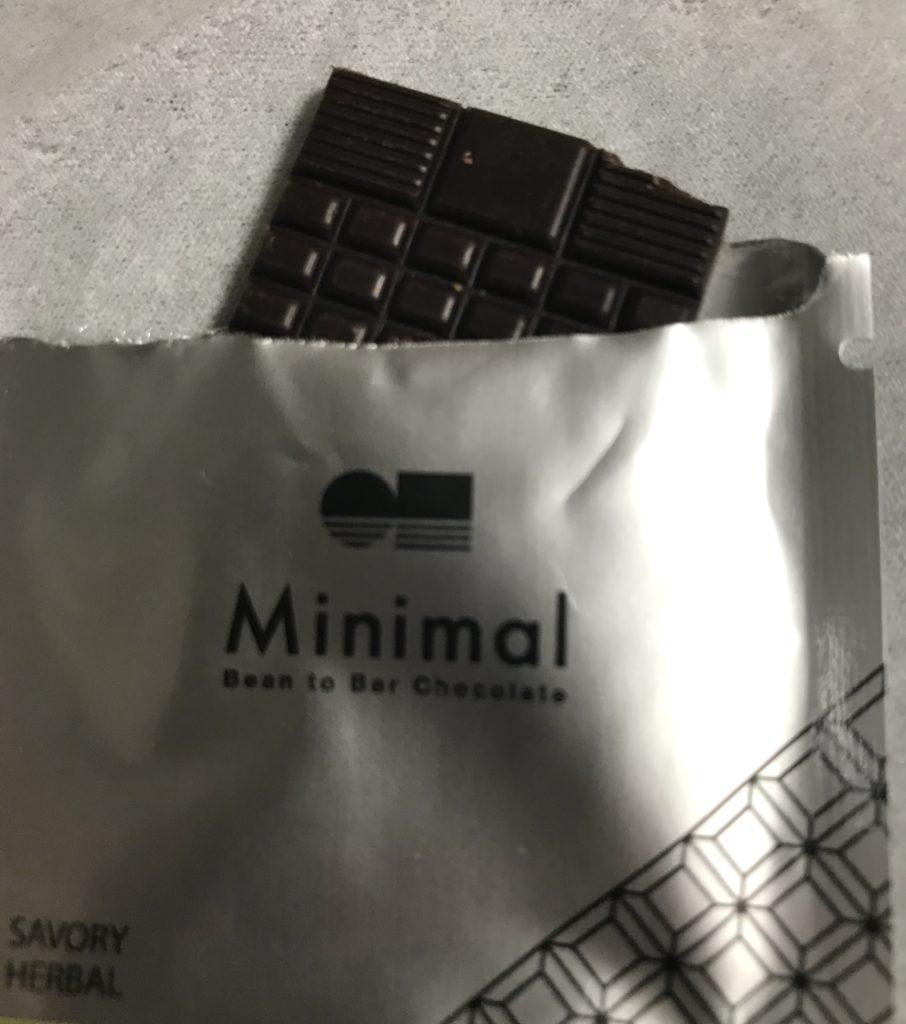Minimalのチョコレート