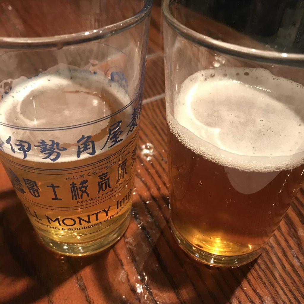 テイスティングビール2種類