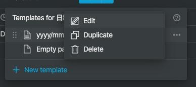 Notionで日報_templateを編集したいとき02
